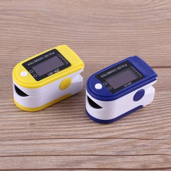 Finger oximeter portable fingertip pulse oximeter with led display automatic switch-off household oxymeter health care device