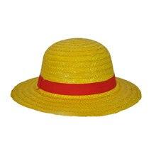 One Piece Luffy sombrero japonés Anime Cosplay sombreros de paja casquillo  de la historieta lindo transpirable Boater Beach somb. 3b9171bbdaa