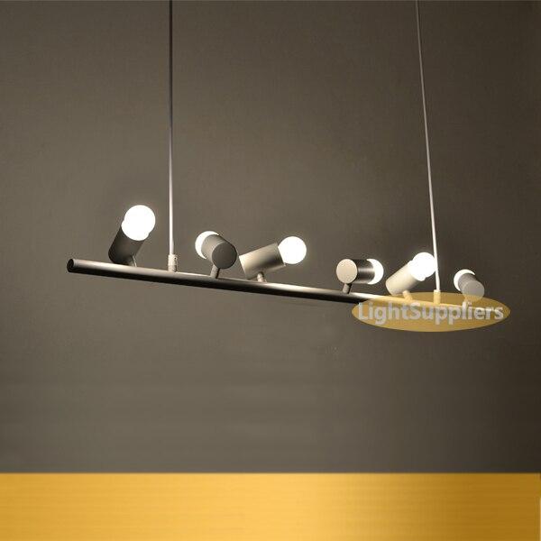 Pendant Light Bar Personalized Modern Brief Led House Bird Lamp 100cm 6