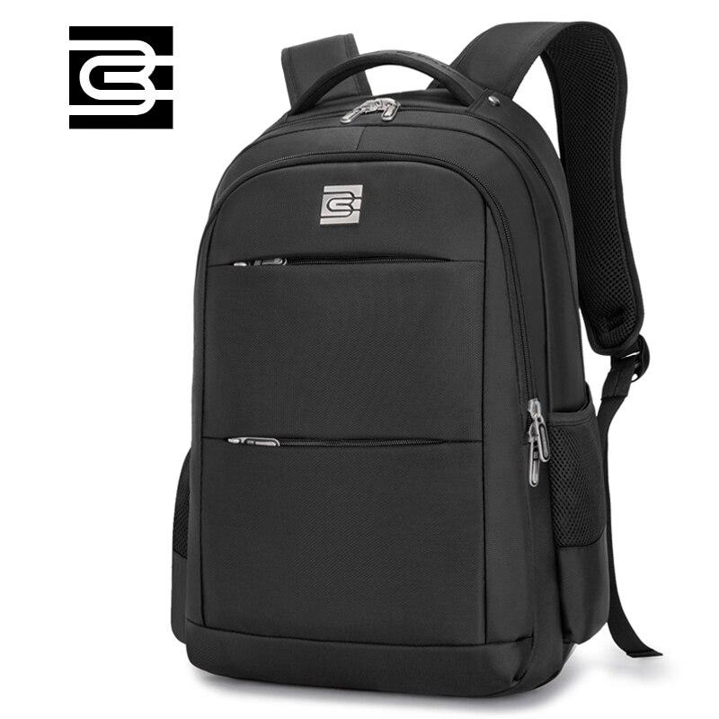 Laptop Backpack Men Travel Bags 2017 Multifunction Rucksack Waterproof Oxford Black School Backpacks For Teenagers