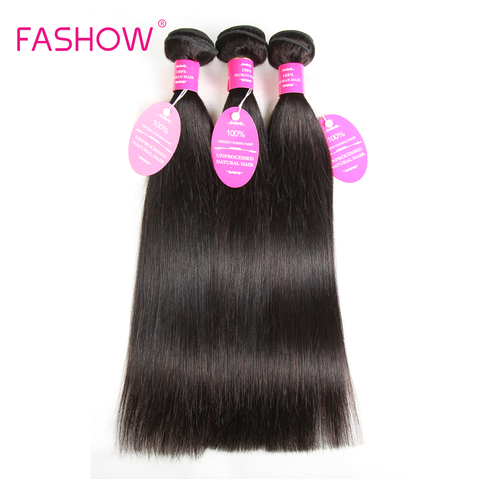 Straight Hair Bundles Malaysian Human Hair Weave Non Remy Hair Bundles 3 pcs/lot Natural Color