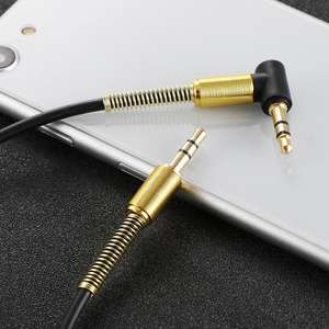 3.5mm Car Aux Audio Cable Jack Male to Male HIFI Universal Stereo Audio Cable with