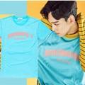 CHEN T Camisa K-POP KPOP EXO K M EX'ACT Álbum 2016 moda Clássico Roupas de Algodão T-shirts de Manga Curta Sólida k pop Tshirts exo