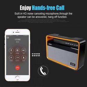 Image 4 - נייד HIFI אלחוטי סטריאו סופר בס Caixa תיבת קול HandFree עבור טלפון כוח בנק 10W 2000mah FM רדיו p7 bluetooth רמקול