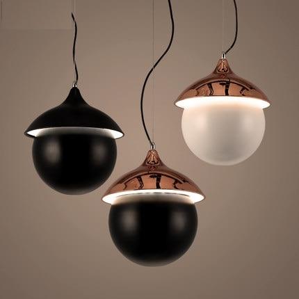 Loft Style Modern LED Pendant Light Fixtures Creative Vintage Industrial Lighting Indoor Dining Room Circular Iron Hanging Lamp