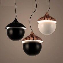 Lámpara colgante de hierro Circular para sala de estar o comedor de estilo Loft