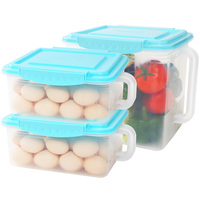 Vegetable Fresh Keep Food Container Organizer Convenient Storage Boxes Durable Multifunctional Crisper Kitchen Item Seal Up Box