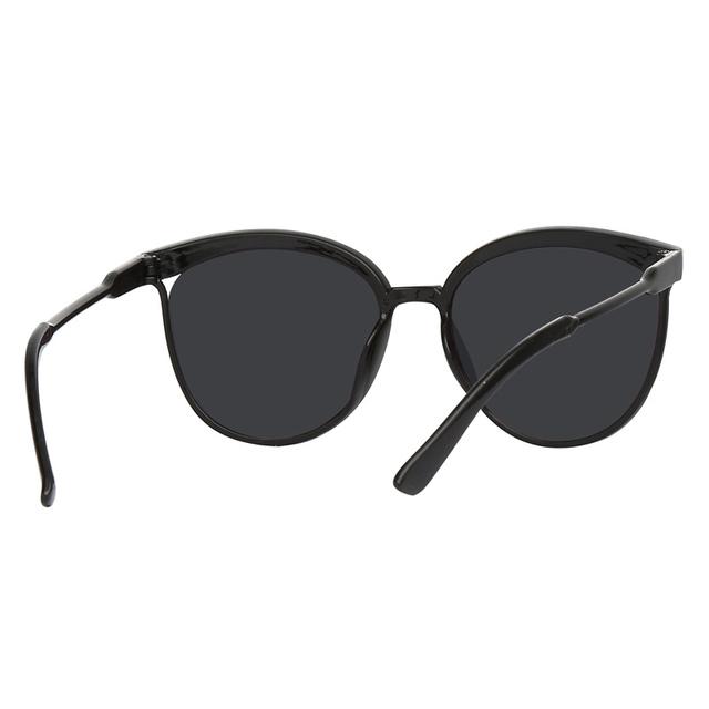 Black Cat Eye Sunglasses Women Brand Designer Retro Cateyes Glasses Female Frame Oval Eyewear UV400 Eye Ladies Glasses