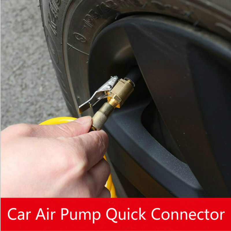 8mm Car Tyre Wheel Tire Air Chuck Inflator Pump Valve Clip Connector Adap XS