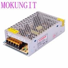 Быстрая 25 шт. адаптер AC110/220 V постоянного тока до светодиодный DC24V 3A железная крышка Питание трансформатор для Светодиодный CCTV, 3528 5050 RGB светодиодный полосы
