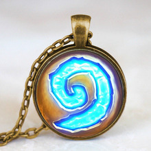 Steampunk Triple Moon Goddess World of Warcraft Hearthstone Pendant Necklace doctor who chain mens new jewelry womens HZ1