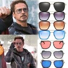 Iron Man sunglasses Tony stark men women Sun Glasses lentes gafas vintage de sol mujer soleil feminino gothic steam punk oculos
