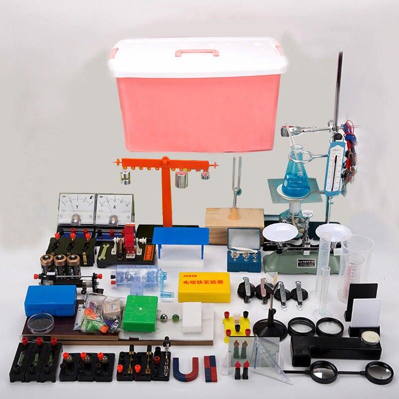 86 шт. Новая лаборатория эксперимент по физике оборудования полные комплекты для оптики электромагнетизма механика Термальность изучить ин
