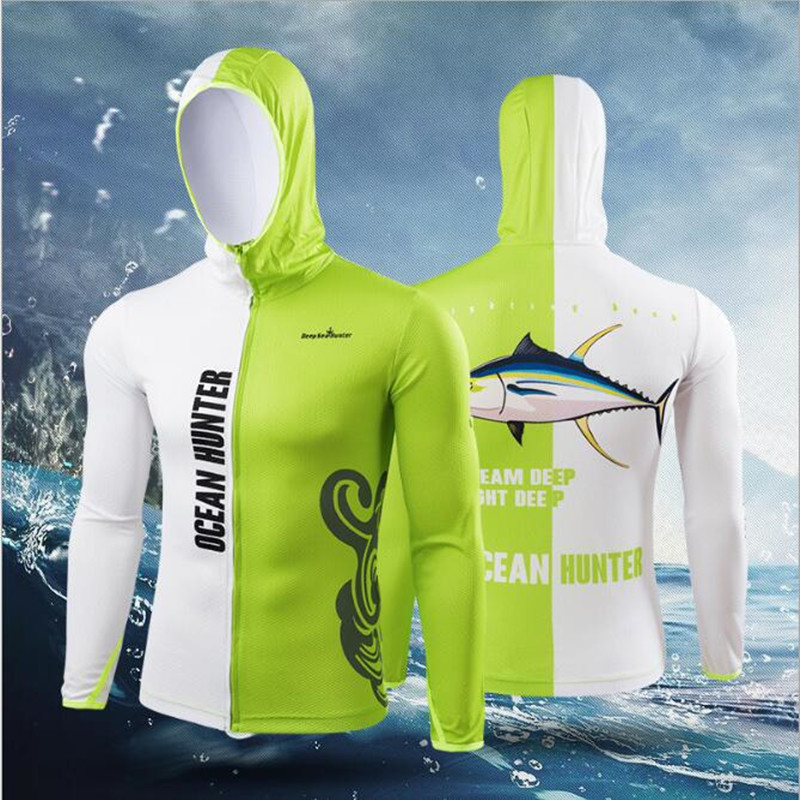 2018 New arriva Hiking climbing Anti Breathable Quick-drying Professional anti-uv Clothes Fishing homme Hooded Fishing Shirt 2018 new daiwa fishing clothing summer anti uv camouflage fishing clothes men s hooded jacket waterproof quick drying coat