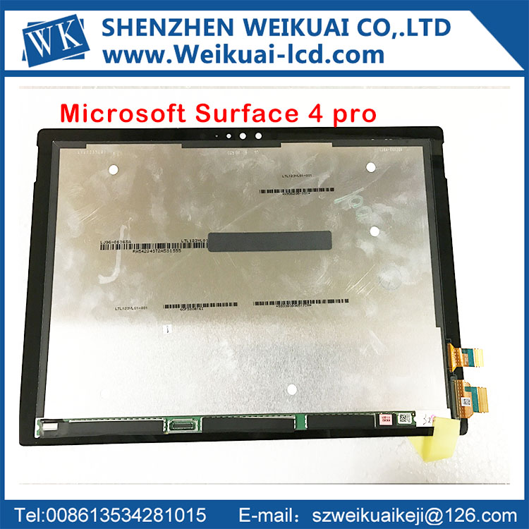 Free shipping For Microsoft Surface Pro 4 V1.0 1724 LCD display touch Screen digitizer Assembly Replacement Part free tools free tools lcd for motorola moto g 2015 3rd gen g3 lcd display touch screen digitizer assembly black free shipping