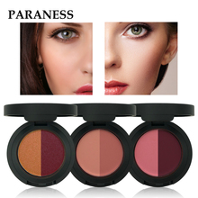 Paraness Brand Makeup 6 Color Cream Blusher Palette Powder Blush Palette Baked S