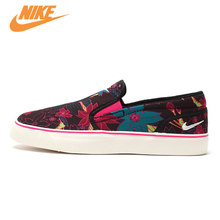 Original New Arrival Official NIKE Toki Slip Women's Light Comfortable and Breathable Skateboarding Shoes Trainers
