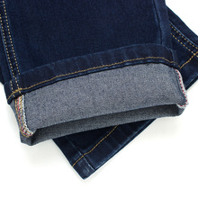 2019 nouveau automne coton Jeans hommes de haute qualité célèbre marque Denim pantalon doux hommes pantalon jean mode grande taille 40 42 44