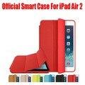 Новый официальный Дизайн Мода Кожа PU Smart Case Для Apple iPad Air 1 2 Откидная Крышка Case Для iPad 6 + Экран Фильма: I607