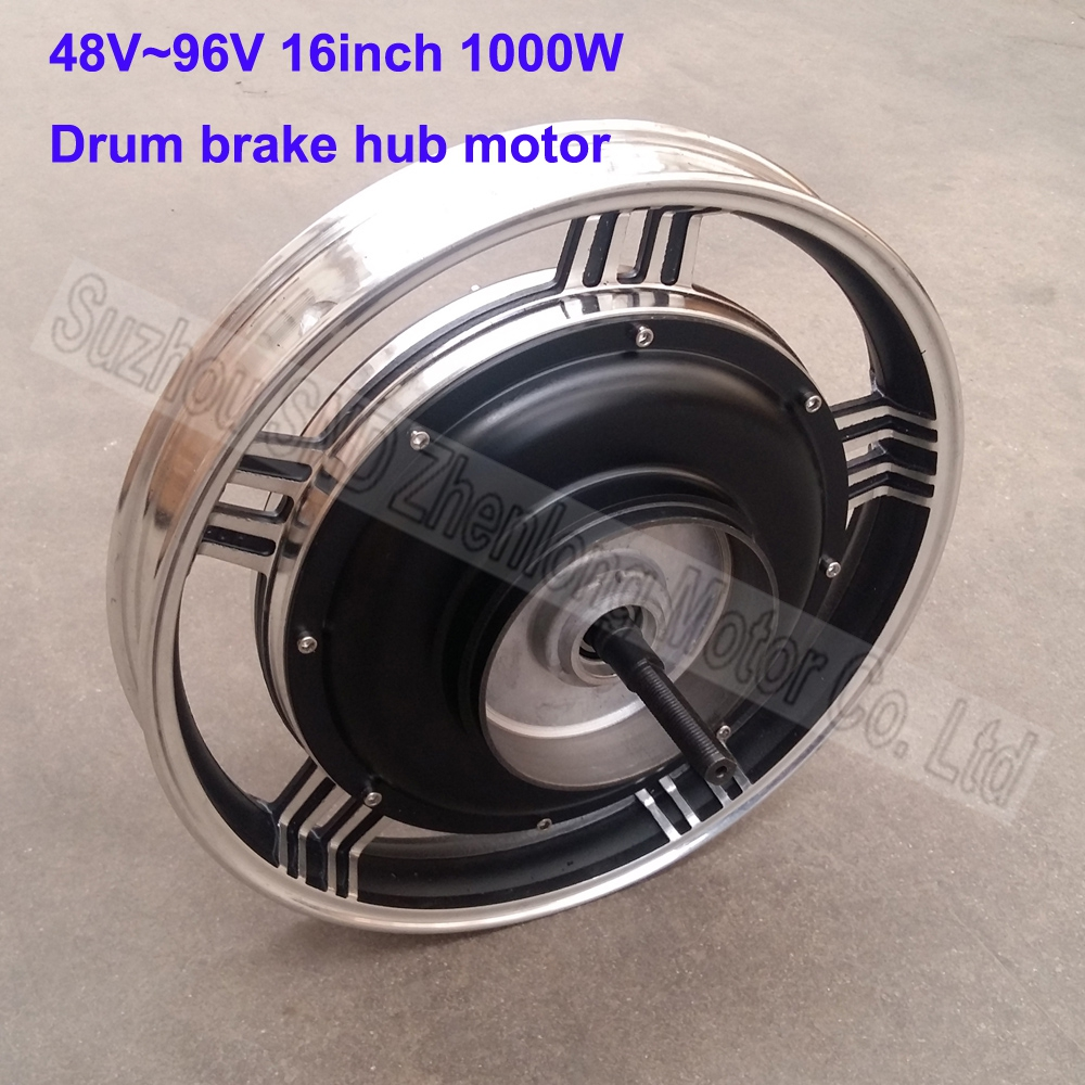 16inch Zl Motor 48v60v72v96v 1000w E Bike Hub Motor E
