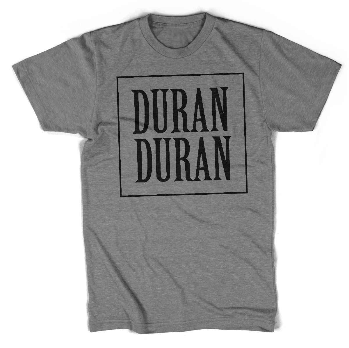 a3d9473f Duran Duran 80's Unisex T shirt All Sizes Colours Teenage Natural Cotton Printed  top tee Print