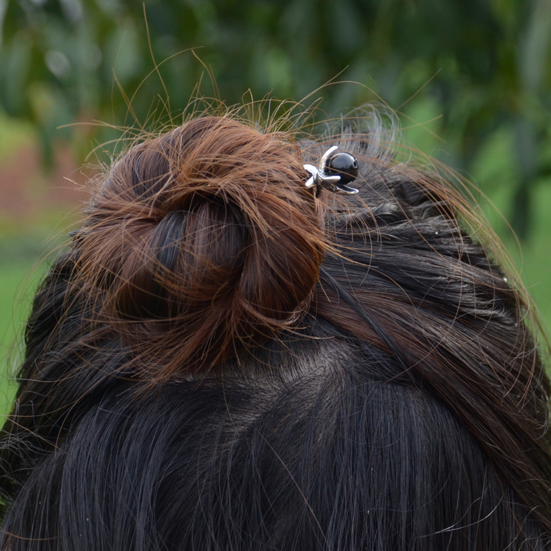 Ethnic Silver Hairpins 1