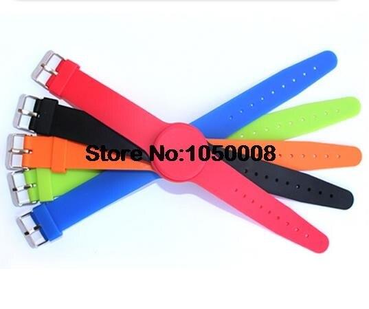 100pcs 13.56Mhz UID Changeable MF 1K S50 NFC Bracelet RFID Wristband Chinese Magic Card Back Door Rewritable S50 Card чехол k s kids для k magic