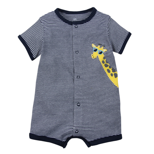 2019 NEW stlye Summer baby boys rompers kids Short sleeve clothing Baby girls cotton Jumpsuit Newborn rompers 0-24M baby clothes 2