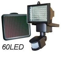 Outdoor Lighting Solar Power Garden Lawn Light 60LED PIR Body Motion Sensor Solar Floodlights Spotlights Street