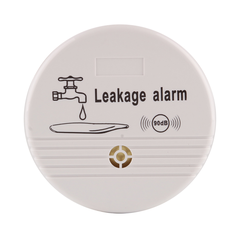 Wireless Water Overflow Leakage Alarm Sensor Detector 90dB ABS Voice Work Alone Water Level Alarm Home Security Alarm System 9