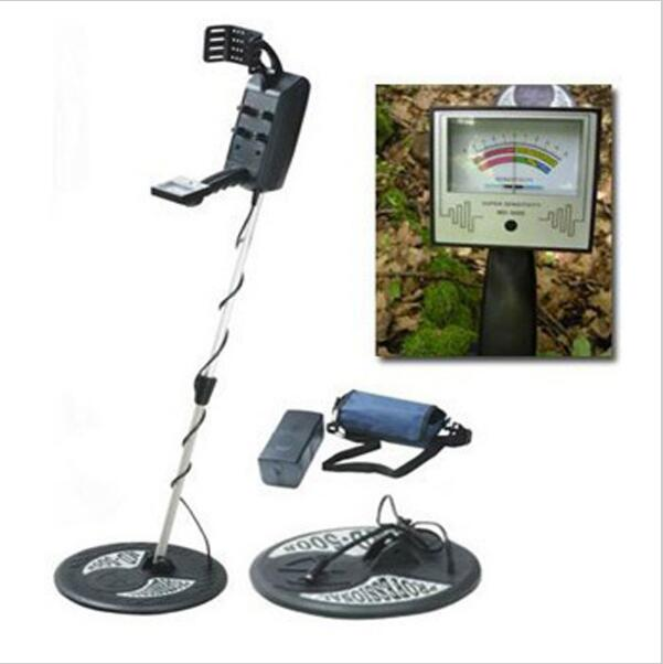 цена MD-5008 Under ground Metal Detector Gold Max detection depth 3.5m Battery-Powered Metal Detector With LCD Screen