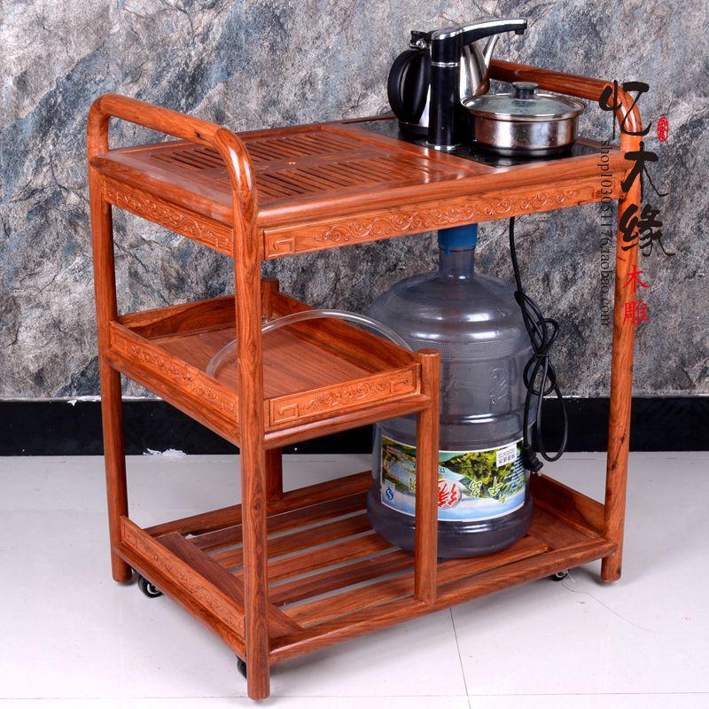 Mahogany wood tea tea cart rosewood tea table small tea table trolley mobile tea table Kung Fu tea table frame смартфон lenovo vibe c2 k10a40 8gb black