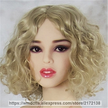 WMDOLL Lifelike Silicone Sex Doll Realistic Oral Sex Love Dolls Head Adult Toys for Men