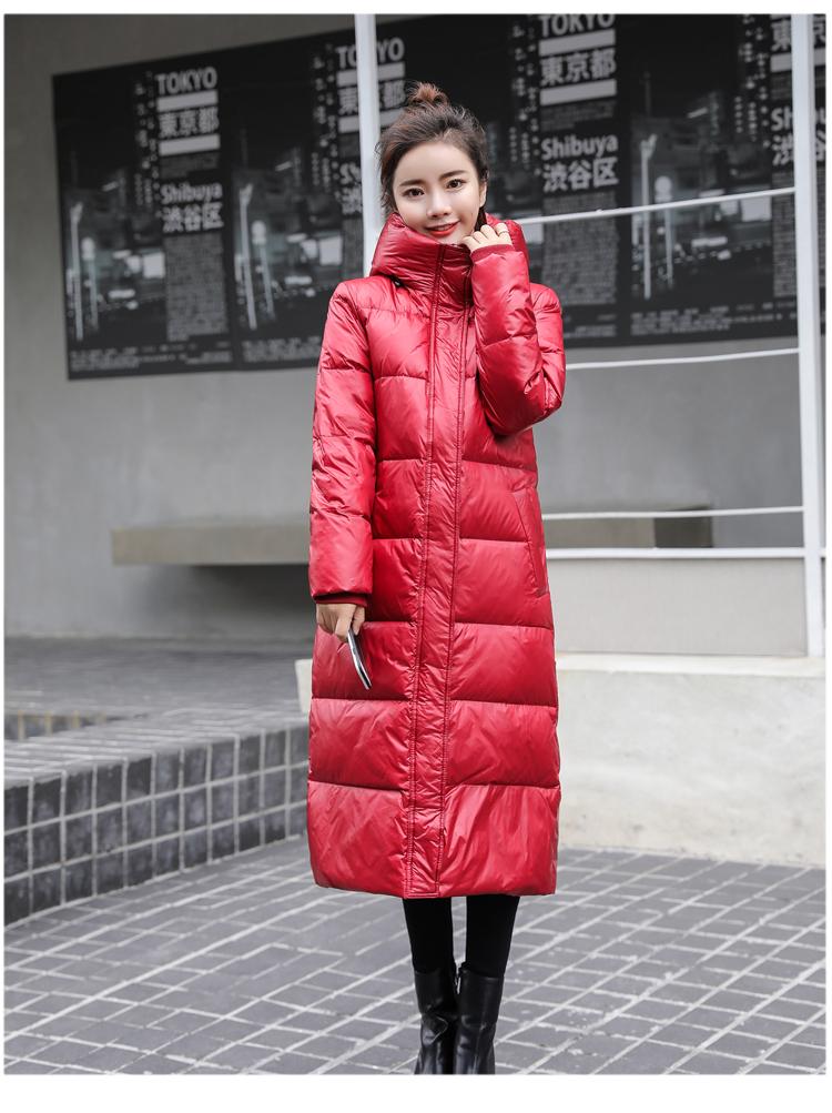 Long Coat Winter Female 8