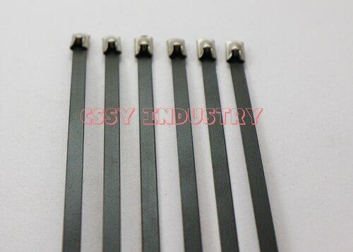 7.9x500 304 aço inoxidável cable tie enrole