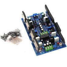 2SA1494 2SC3858 Stereo Two Channel Powerful Amplifier Board 300W+300W w/ Speaker Protect YJ00180