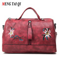 Crossbody Bags For Women Leather Handbags Casual Designer Handbags High Quality Embroidery New Fashion Flowers Messenger Bags 4