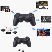 Controller Wireless for PS3 Double Shock Gamepad for Playstation 3 Six-axis wireless PS3 Controller with Charging Cable 2019