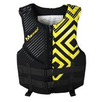 Men's Fishing Vest Adult Water Sport Safety Life Vest Foam Flotation Swimming Life Jacket Buoyancy Vest Women Snorkeling Vest