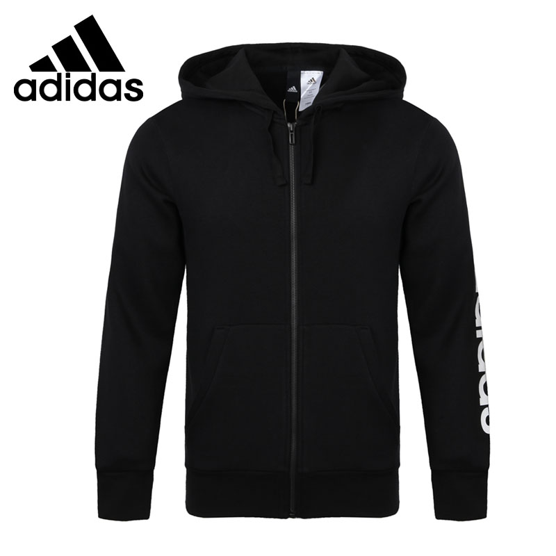 Original New Arrival 2017 Adidas ESS LIN FZHOODB Men's jacket Hooded Sportswear толстовка ess hooded jacket tr