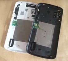 Original New For LG Google Nexus 4 E960 Back Battery Glass Door Cover Housing With NFC Antenna +Camera Lens +Free Tools