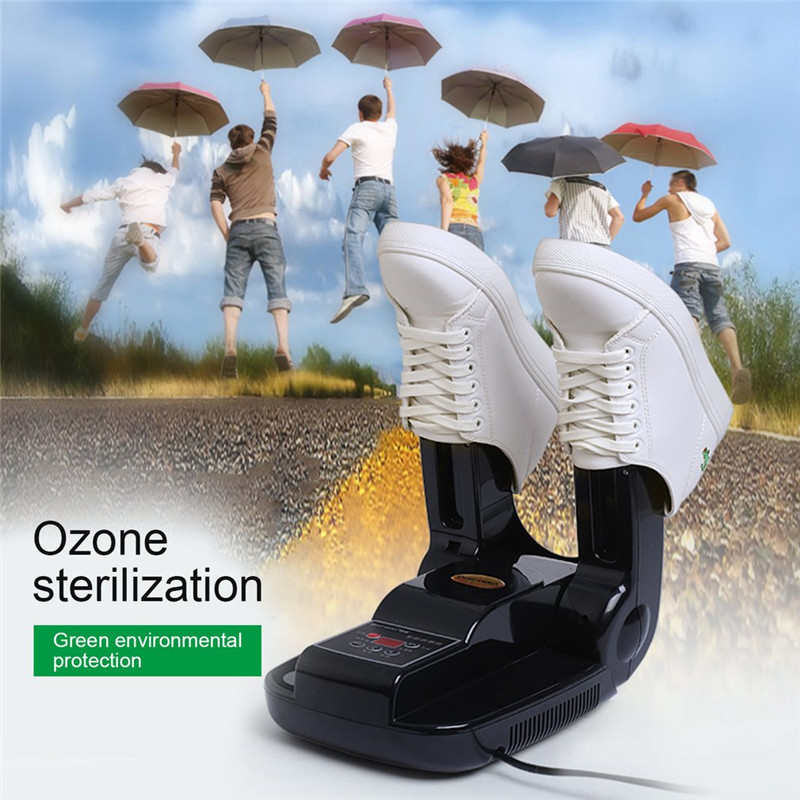 220V Bake Shoe Device Drying Machine Sterilization Antiperspirant Folding Portable Electric Shoe Dryer shoes цена и фото