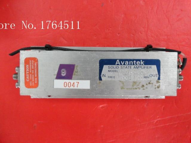 [BELLA] AVANTEK ABG-2400M 1.4-2.4GHz 15V SMA Amplifier