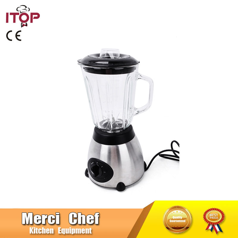 Food Machine Blender Heavy Duty 800W Commercial Electric Mixer Grinder Blender Fruit Vegetable Juicer Food Processor Bar xeoleo 2l heavy duty commercial blender food greater material 2000w food processing machine with pc jar juicer mixer bpa free