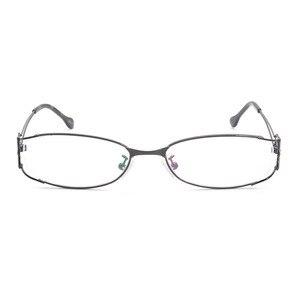 Image 2 - Gafas con montura completa de aleación para mujer, gafas de marca graduadas, a la moda, para mujer