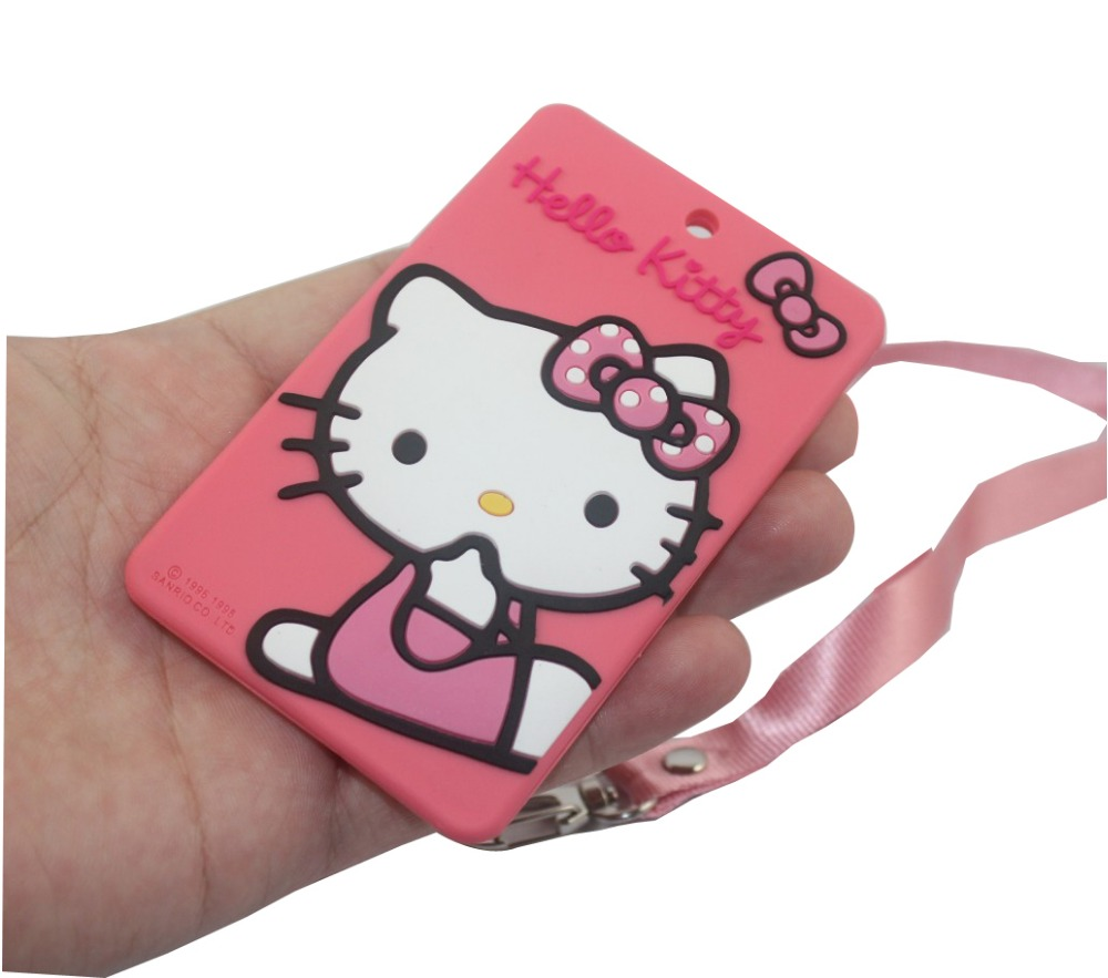 3d pink hello kitty silicone id credit card holdercartoon bus 3d pink hello kitty silicone id credit card holdercartoon bus school business card holders passcase with lanyard39 l23 w on aliexpress alibaba reheart Images
