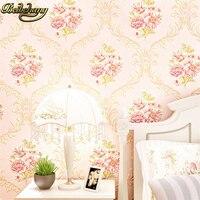 beibehang flower metallic wallpaper roll background wall wallpaper for living room ceiling 3D wall paper roll papel de parede 3d