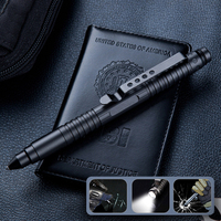 1PC EDC Pocket Portable Self defense Tactical Pen Tungsten Steel Defense Pen Broken Window Tool Military Fan Supplies Equipment