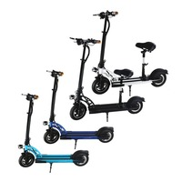 Portable Light Weight Bike 350W 10 Inch Wheel Electric Scooter For Adult Kids Traveling School Work