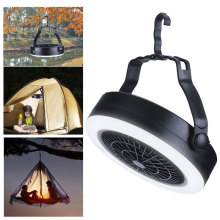 2 in 1 Camping Light Travel Lantern Tent Lamp Fan With Hanging Hook 3 way powered by LED Fan Light Outdoor Camping Hiking Night new arrival 22 led solar powered yard outdoor hiking tent light camping hanging lamp with remote control pure white